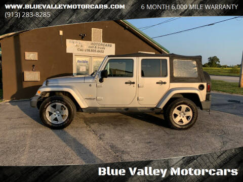 2010 Jeep Wrangler Unlimited for sale at Blue Valley Motorcars in Stilwell KS