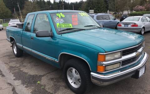 1996 Chevrolet C/K 1500 Series for sale at Freeborn Motors in Lafayette, OR