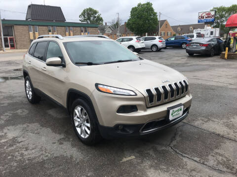 2014 Jeep Cherokee for sale at Carney Auto Sales in Austin MN