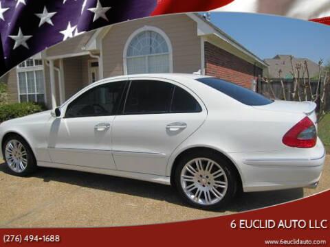 2008 Mercedes-Benz E-Class for sale at 6 Euclid Auto LLC in Bristol VA