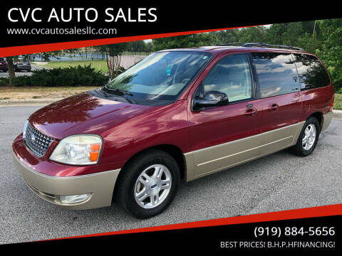 2005 Ford Freestar for sale at CVC AUTO SALES in Durham NC