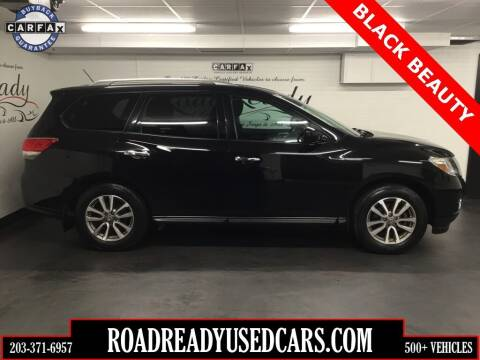 2014 Nissan Pathfinder for sale at Road Ready Used Cars in Ansonia CT