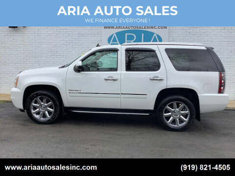 2011 GMC Yukon for sale at ARIA  AUTO  SALES in Raleigh NC