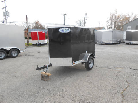 2021 Continental Cargo V-Nose 4x6 for sale at Jerry Moody Auto Mart - Trailers in Jeffersontown KY