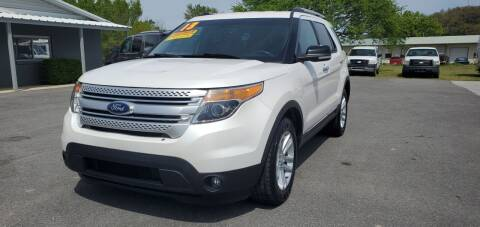 2013 Ford Explorer for sale at Jacks Auto Sales in Mountain Home AR