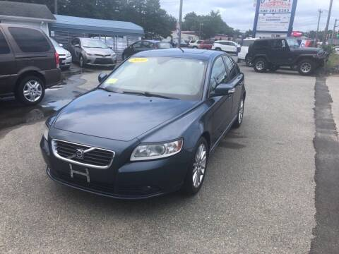 2010 Volvo S40 for sale at U FIRST AUTO SALES LLC in East Wareham MA