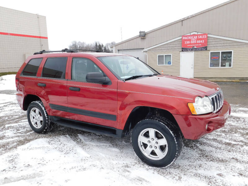 2005 Jeep Grand Cherokee for sale at Macrocar Sales Inc in Akron OH