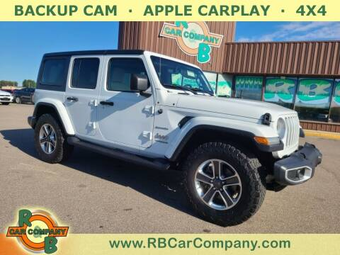 2018 Jeep Wrangler Unlimited for sale at R & B Car Co in Warsaw IN