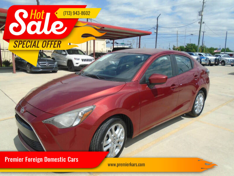 2016 Scion iA for sale at Premier Foreign Domestic Cars in Houston TX