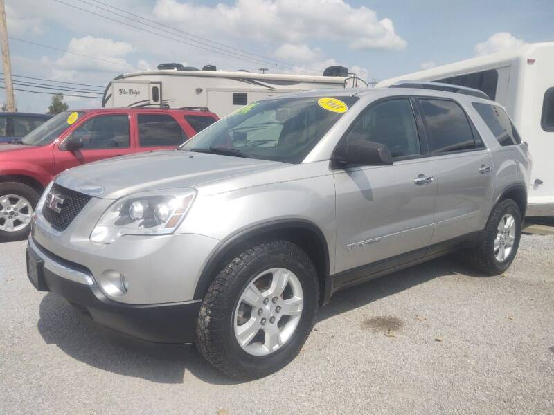 2008 GMC Acadia for sale at Mr E's Auto Sales in Lima OH