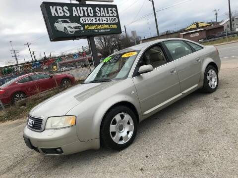 2004 Audi A6 for sale at KBS Auto Sales in Cincinnati OH