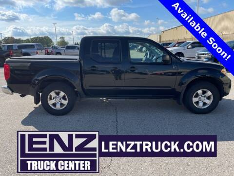 2013 Nissan Frontier for sale at LENZ TRUCK CENTER in Fond Du Lac WI