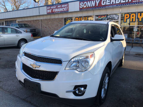 2013 Chevrolet Equinox for sale at Sonny Gerber Auto Sales in Omaha NE