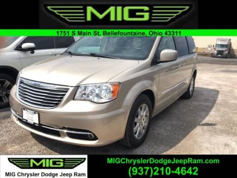 2014 Chrysler Town and Country for sale at MIG Chrysler Dodge Jeep Ram in Bellefontaine OH