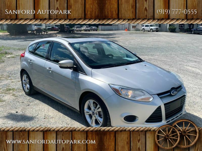2014 Ford Focus for sale at Sanford Autopark in Sanford NC