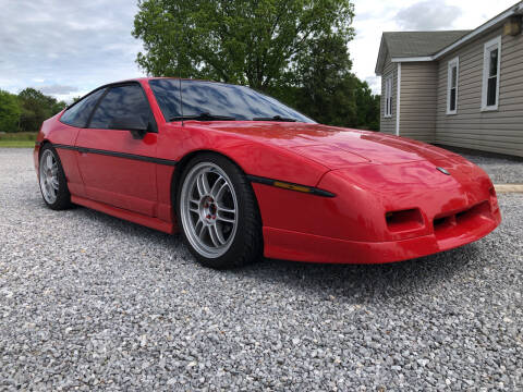 1988 Pontiac Fiero for sale at Curtis Wright Motors in Maryville TN