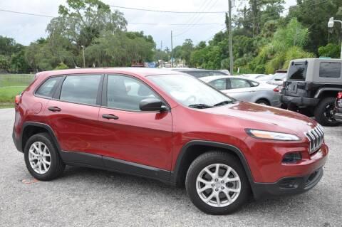 2015 Jeep Cherokee for sale at Elite Motorcar, LLC in Deland FL