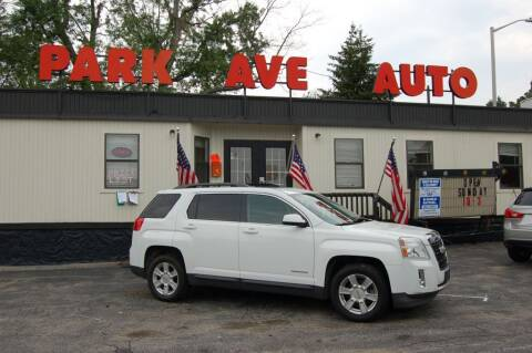 2013 GMC Terrain for sale at Park Ave Auto Inc. in Worcester MA