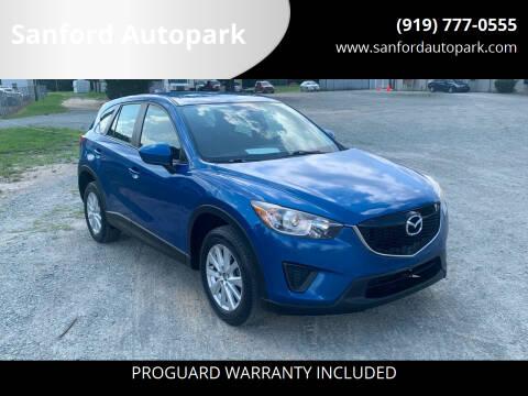 2014 Mazda CX-5 for sale at Sanford Autopark in Sanford NC