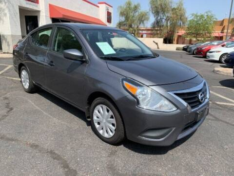 2017 Nissan Versa for sale at Brown & Brown Wholesale in Mesa AZ