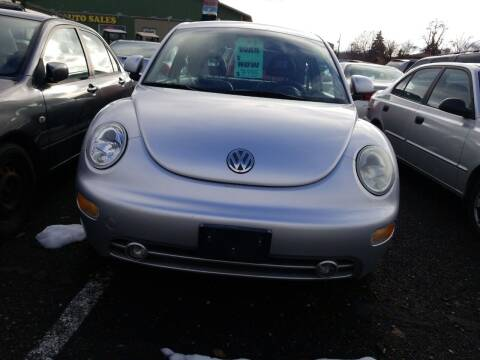 2000 Volkswagen New Beetle for sale at 2 Way Auto Sales in Spokane Valley WA