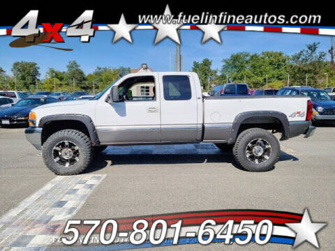 2000 GMC Sierra 1500 for sale at FUELIN FINE AUTO SALES INC in Saylorsburg PA