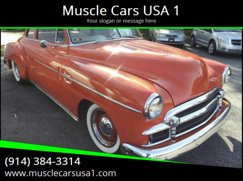 1950 Chevrolet Street Rod for sale at Muscle Cars USA 1 in Murrells Inlet SC