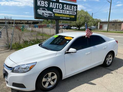 2015 Chevrolet Malibu for sale at KBS Auto Sales in Cincinnati OH
