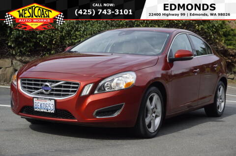 2012 Volvo S60 for sale at West Coast Auto Works in Edmonds WA