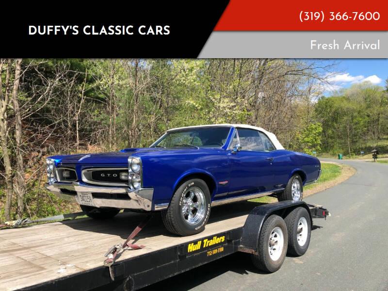 1966 Pontiac GTO for sale at Duffy's Classic Cars in Cedar Rapids IA