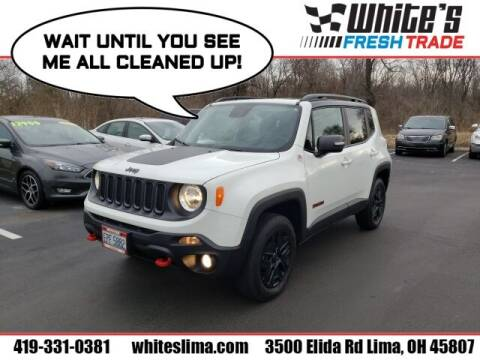 2018 Jeep Renegade for sale at White's Honda Toyota of Lima in Lima OH