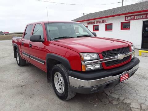 2005 Chevrolet Silverado 1500 for sale at Sarpy County Motors in Springfield NE