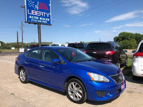 2014 Nissan Sentra for sale at Liberty Auto Sales in Merrill IA