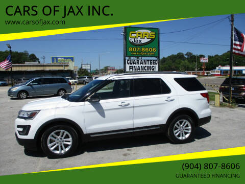 2016 Ford Explorer for sale at CARS OF JAX INC. in Jacksonville FL