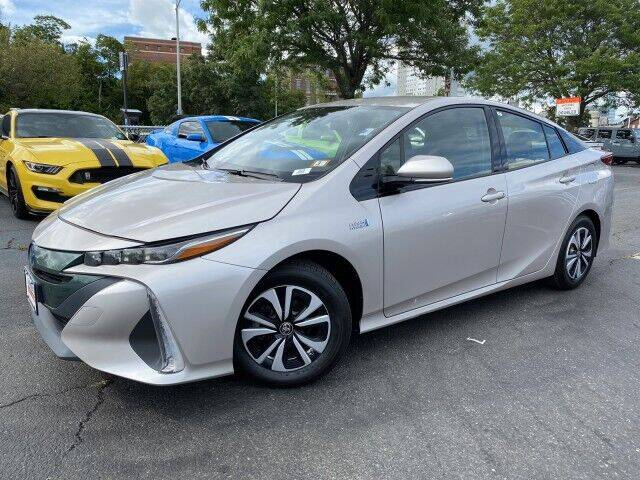 2017 Toyota Prius Prime for sale at Sonias Auto Sales in Worcester MA