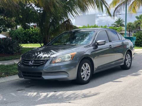 2012 Honda Accord for sale at L G AUTO SALES in Boynton Beach FL