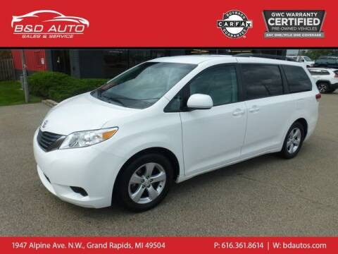 2012 Toyota Sienna for sale at B&D Auto Sales Inc in Grand Rapids MI