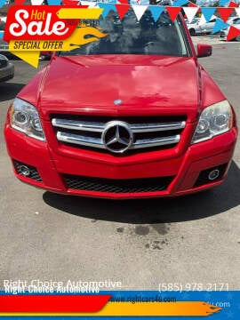 2010 Mercedes-Benz GLK for sale at Right Choice Automotive in Rochester NY