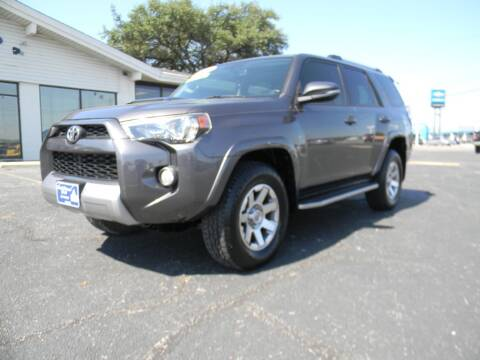 2016 Toyota 4Runner for sale at MARK HOLCOMB  GROUP PRE-OWNED in Waco TX