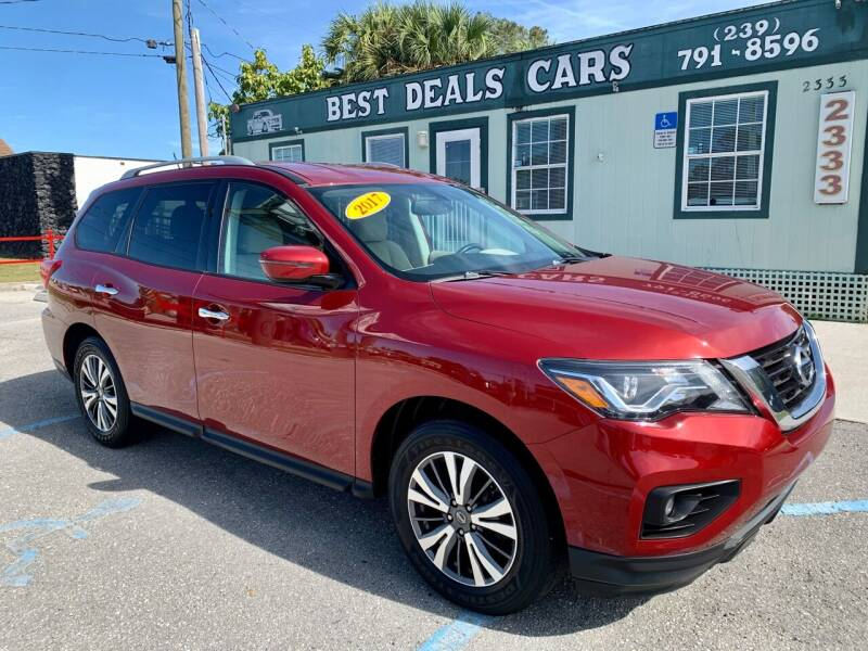 2017 Nissan Pathfinder for sale at Best Deals Cars Inc in Fort Myers FL