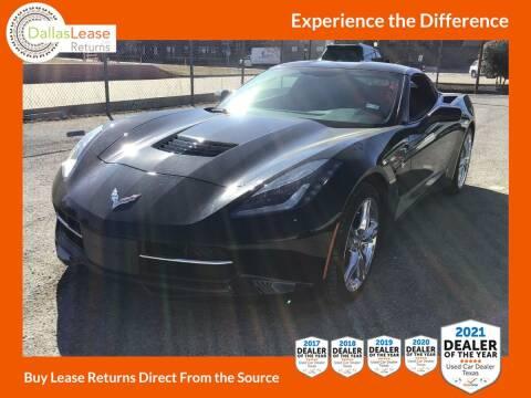 2017 Chevrolet Corvette for sale at Dallas Auto Finance in Dallas TX