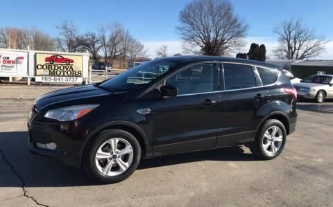 2014 Ford Escape for sale at Cordova Motors in Lawrence KS
