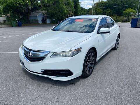 2015 Acura TLX for sale at Consumer Auto Credit in Tampa FL