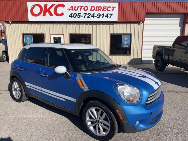 2011 MINI Cooper Countryman for sale at OKC Auto Direct in Oklahoma City OK
