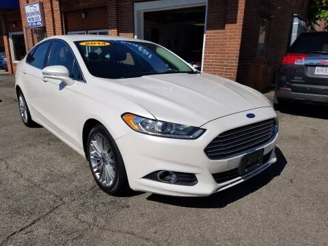 2014 Ford Fusion for sale at BELLEFONTAINE MOTOR SALES in Bellefontaine OH