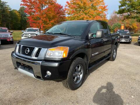 2014 Nissan Titan for sale at AutoMile Motors in Saco ME