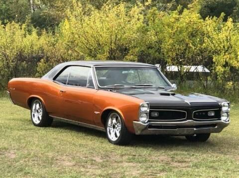 1966 Pontiac GTO for sale at Classic Car Deals in Cadillac MI