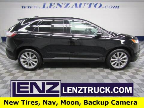 2018 Ford Edge for sale at LENZ TRUCK CENTER in Fond Du Lac WI