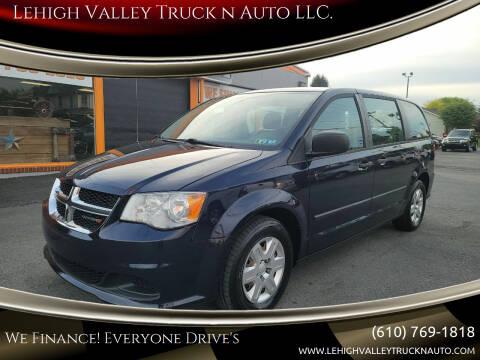 2013 Dodge Grand Caravan for sale at Lehigh Valley Truck n Auto LLC. in Schnecksville PA