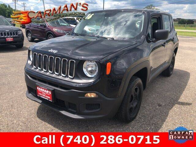 2016 Jeep Renegade for sale at Carmans Used Cars & Trucks in Jackson OH